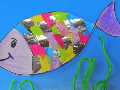 How to make a Rainbow fish