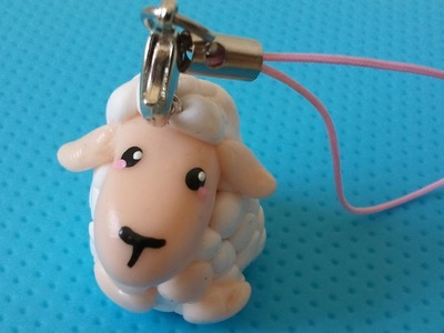 ★ Kawaii Sheep Charm (Polymer Clay Tutorial) ★