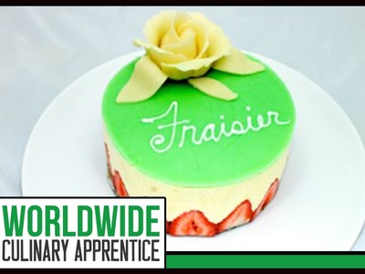 Marzipan Rose - How to Make Marzipan Fruits - Marzipan Garnishes - Cake Decorations