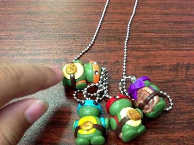 Ninja turtles Polymer clay