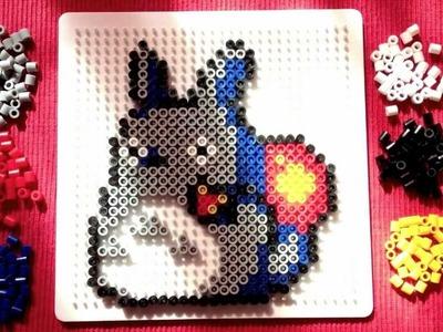 Perler Bead Tutorial: Totoro