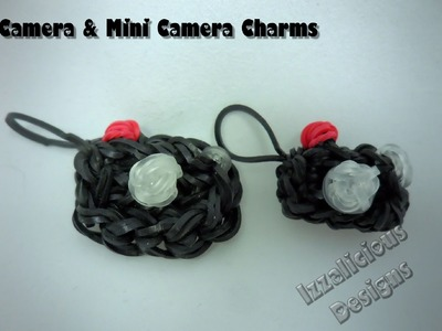 Rainbow Loom NEW! Camera Charm Tutorial