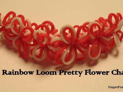 Rainbow Loom Pretty Flower Chain