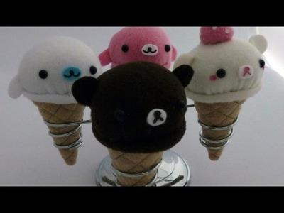 Rilakkuma Ice Cream Plush Tutorial