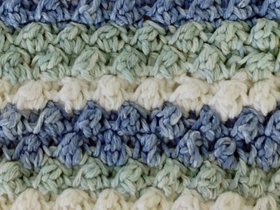 Stitch Repeat Berry Stitch Free Crochet Pattern - Left Handed