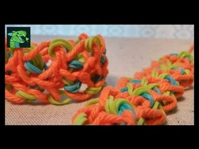 The Mayberry Technique - Dragon Scale Rainbow loom Bracelet with