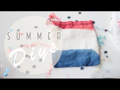 Three Summer DIYs + FOURTH OF JULY!