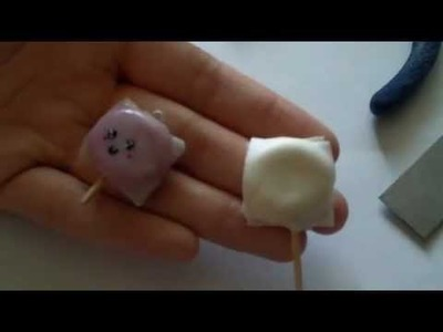 Tutorial lollipop kawaii  lecca lecca kawaii. polymer clay (