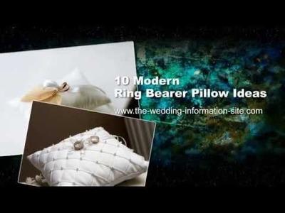 10 Modern Ring Bearer Pillow Ideas - TWIS Weddings - Wedding Ideas