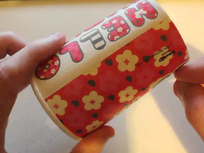 ASMR - Tapping.Scratching on a paper cup