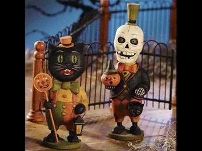 Bethany Lowe Halloween Retro Vintage Decorations