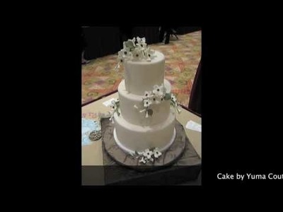 Cake Shoes Spinning Cake Stand