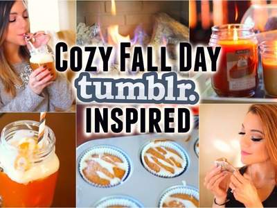 Cozy Fall.Winter Day (tumblr inspired): Treats, Outfits + Essentials