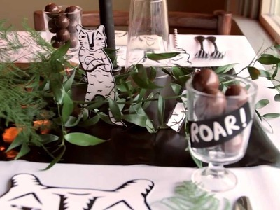Dinner party ideas and decorations