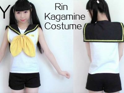 DIY Rin Kagamine Cosplay Costume
