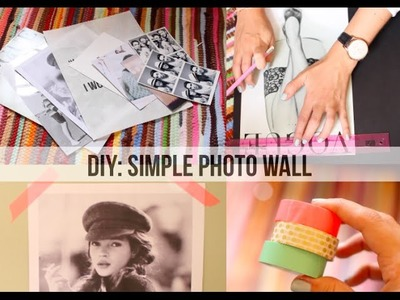DIY: Simple Photo Wall. Lily Pebbles