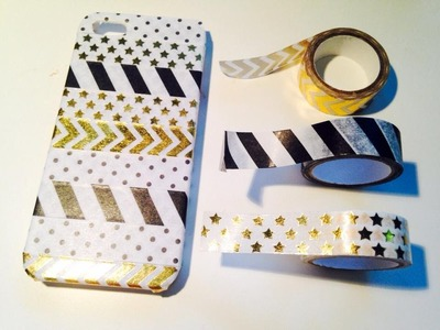 ✂ ♡ DIY Tape Phone Case