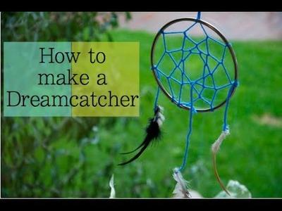 DIY Tutorial: How to Make a Dreamcatcher