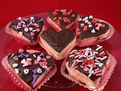 Easy Valentine's Day Cherry Fudge- with yoyomax12
