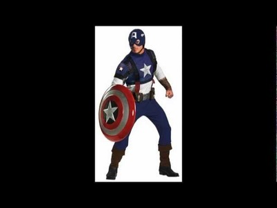Halloween Costume Ideas - Adult Captain America Costumes
