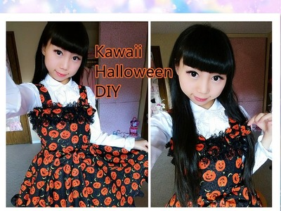 Halloween DIY : Gothic Lolita Dress