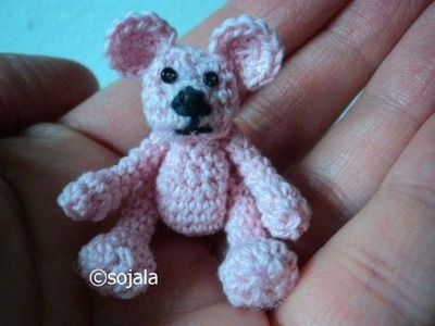 How To Crochet A Tiny Bear (part one)