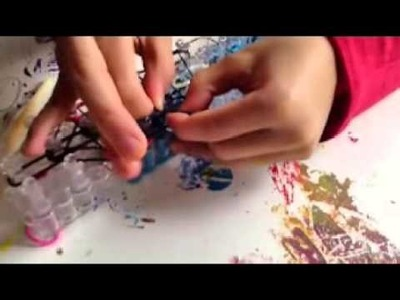 How to make a Rainbow Loom Darth Vader Charm