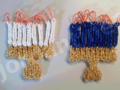 How To Make A Rainbow Loom Holiday Hanukkah Chanukah Menorah