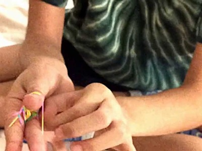 How to make a Rainbow Loom  Triple fishtail