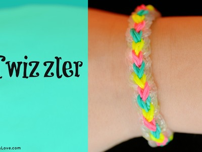 How to Make the Rainbow Loom Twizzler Bracelet