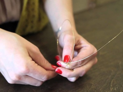 How to Prep a Wire Wrapped Ring Base