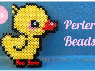 Kawaii Duck in Perler Beads | Ideas and Inspiration |