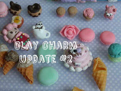 Polymer Clay Charm Update #2 - Birthday Cake!