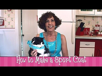 Polymer Clay - How to Make a Sport Coat