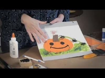 Pumpkin Picture Ideas : Art Projects for Kids