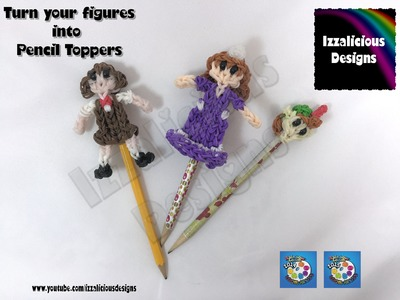 Rainbow Loom - Action Figure Pencil Toppers