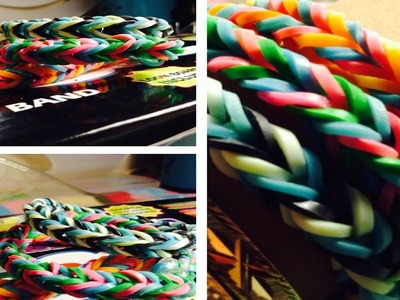 Rainbow Loom: Fishtail Braid Tutorial