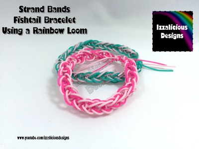 Rainbow Loom & Strand Bands - Fishtail Bracelet