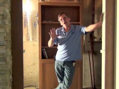 Secret Bookcase Door  HD  CC