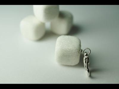 Sugar Cube Polymer Clay Tutorial, Miniature Food Tutorial