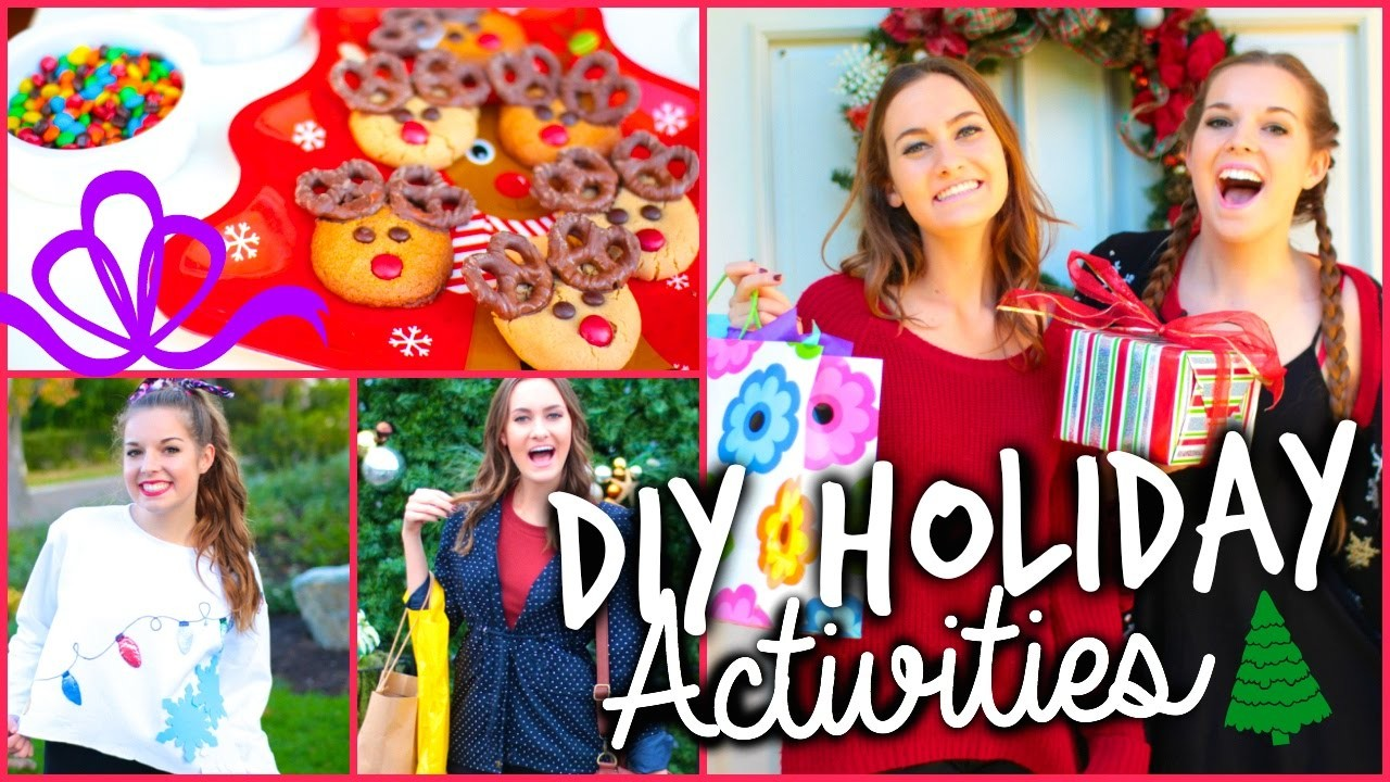 What To Do When You're Bored: DIY Holiday Activities!