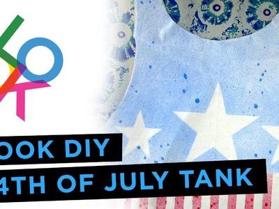 4th of July Tank Tutorial: LOOK DIY