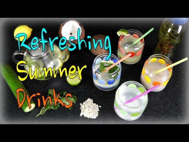 5 Refreshing Spring. Summer Drinks!