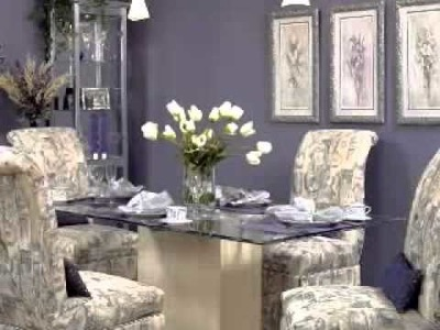 ABC's of Home Decorating with Decorating Den Interiors: Dazzling Dining rooms