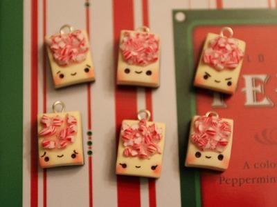 Christmas Polymer Clay Tutorial Peppermint bark
