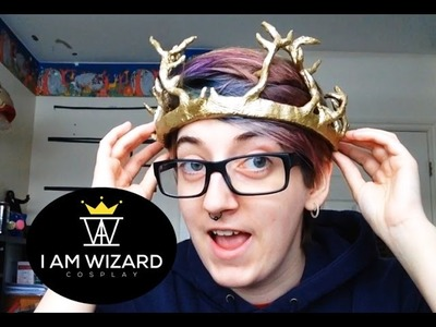 Cosplay tutorial - Renly Baratheon's crown