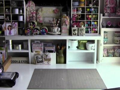 Craft Room Tour. .again ;-)