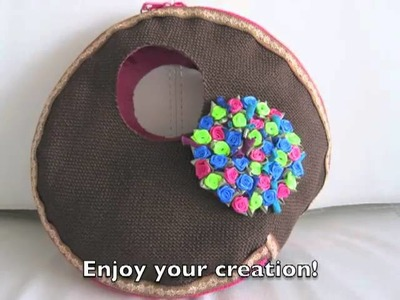 Create your own handbag with home accessories www.wadashop.com
