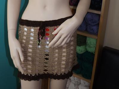 Crochet Cubre Traje De  Baño