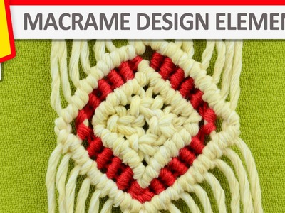 Design Elements - Diamond in two colors - Tutorial
